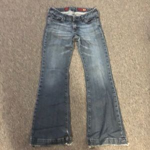 Wide leg express jeans